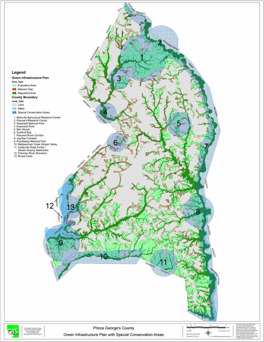 Green Infrastructure Map