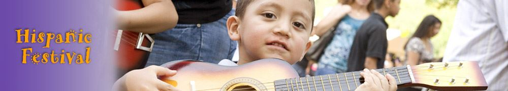 Hispanic Festival - Boy with Guitar