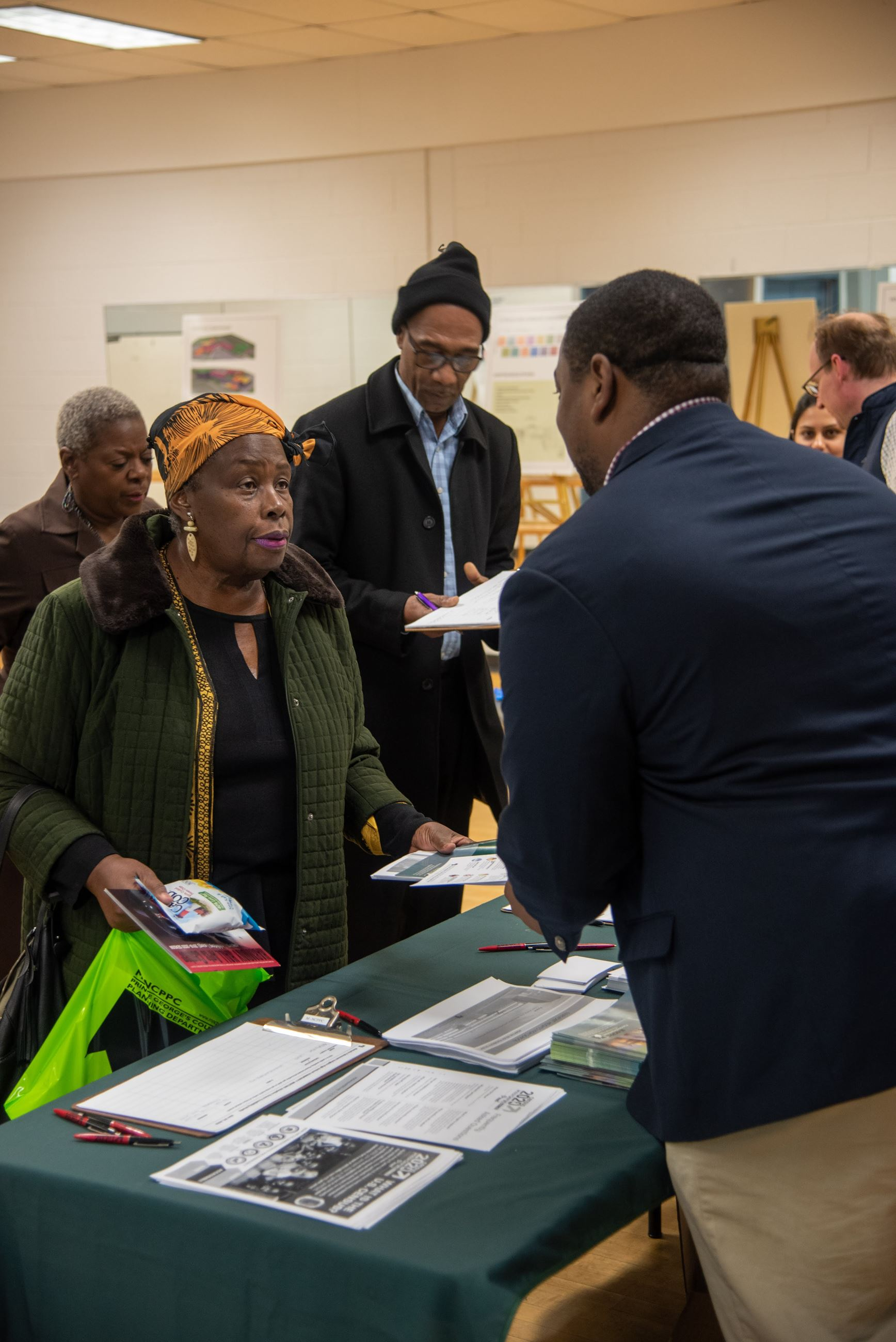 Fairmont Heights High School Feasibility Study Community Meeting