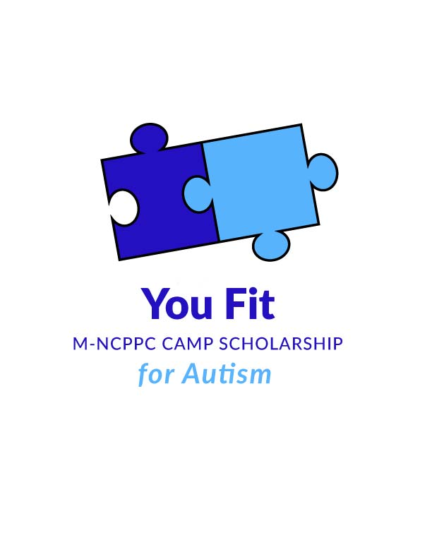 You Fit Scholarship for Autism Logo featuring puzzle pieces