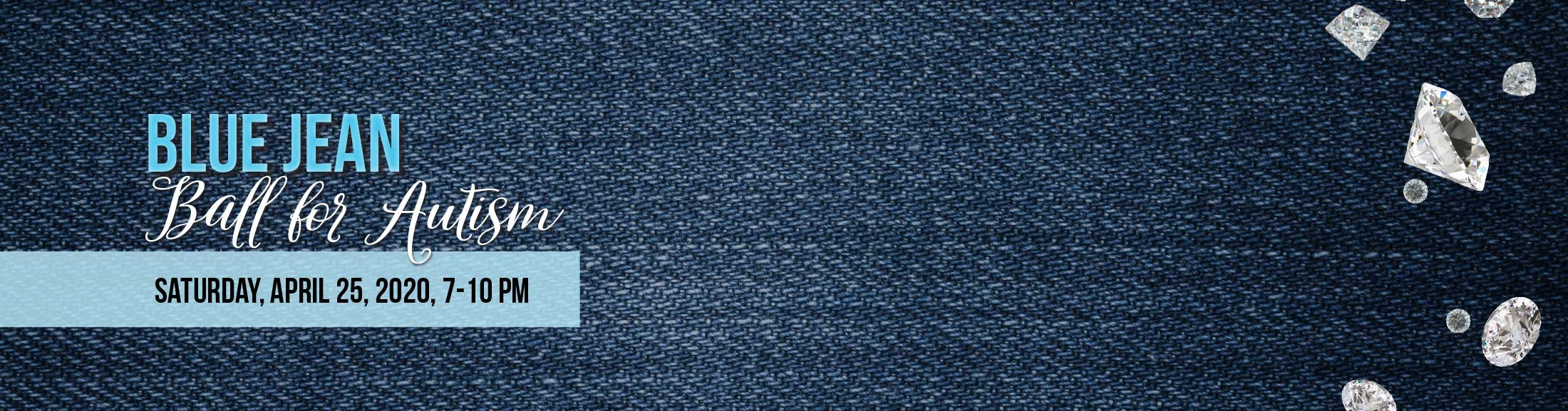 closeup of blue jean texture