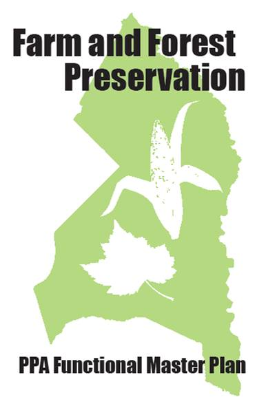 Priority Preservation Area (PPA) Functional Master Plan Logo