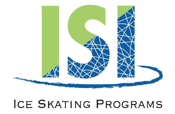 Ice Sports Industry logo written in green and blue letters
