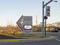 College Park Airport Sign