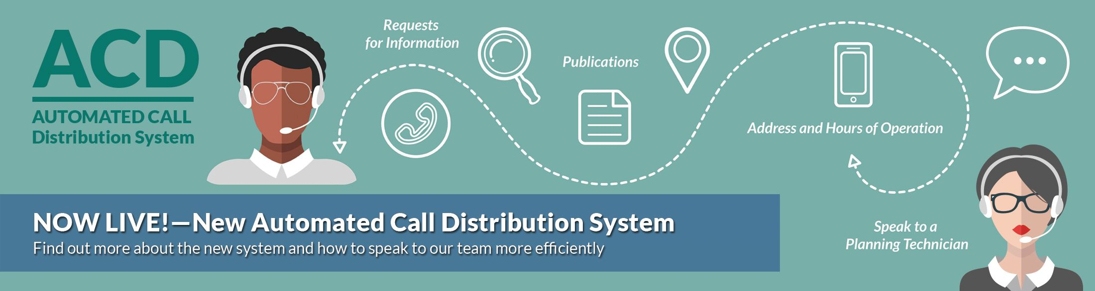 •	Automated Calling Distribution (ACD) System: Need to get some planning information or have questio
