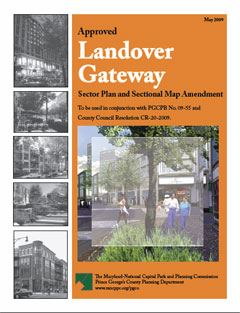 Approved Landover Gateway Sector Plan and SMA Journal Cover