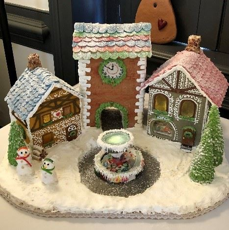 Michelle Howell Quarter Till Christmas Gingerbread House